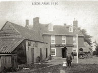 The Leeds Arms pub (now the Eltisley)